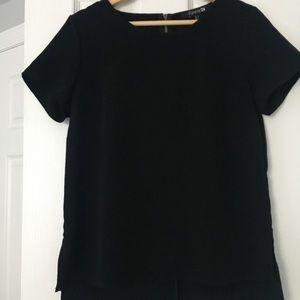 Forever 21 classic black blouse
